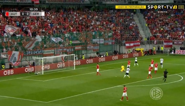 Alemania vs. Austria: Mesut Özil anotó golazo para el 1-0 | VIDEO