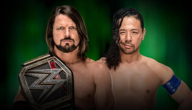 WWE: AJ Styles vs. Shinsuke Nakamura en Money in the Bank 2018. (Foto: WWE)