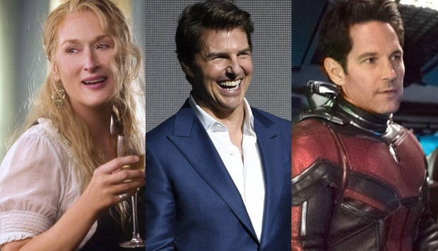 """""""Mamma mia"""", """"Mision imposible"""" y """"Ant Man and the Wasp"""""""