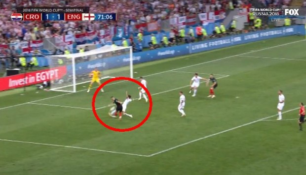 Inglaterra vs. Croacia EN VIVO: Perisic casi marca el 2-1 [VIDEO]