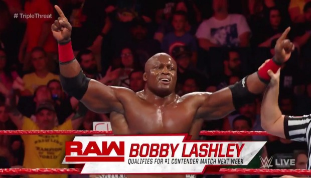 WWE RAW se celebró desde el Keybank Center de Buffalo, New York. En triple amenaza, Bobby Lashley derrotó a Seth Rollins y Elías