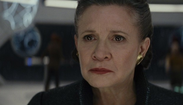 Episodio IX incluirá en reparto a Carrie Fisher — Star Wars