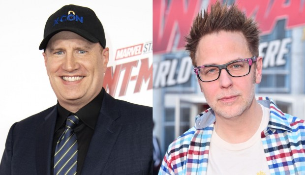 Kevin Feige y James Gunn