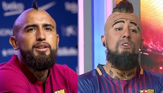 YouTube: la imitación boliviana de Arturo Vidal que causa polémica en Chile | VIDEO