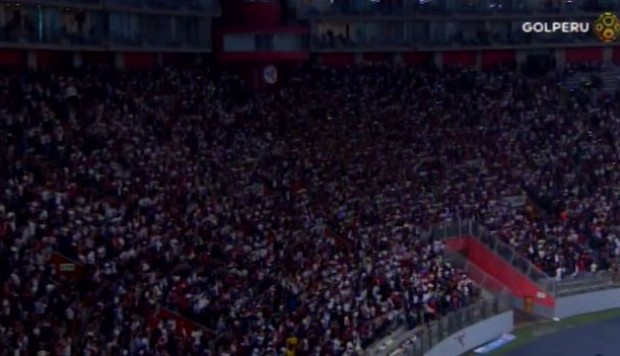 Universitario de Deportes vs. Alianza Lima: ¿cremas llenaron el Estadio Nacional? (Video: Gol Perú)