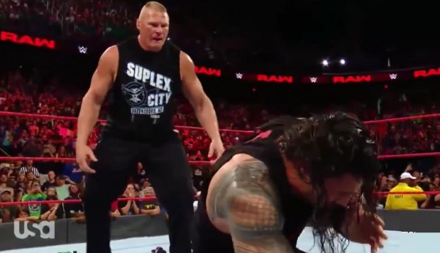 WWE: Lesnar atacó cobardemente a Reigns y lo destruyó previo a SummerSlam 2018. (Video: YouTube)