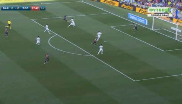 Barcelona vs. Boca: mira el gol de Malcom para el 1-0 | VIDEO | EN VIVO