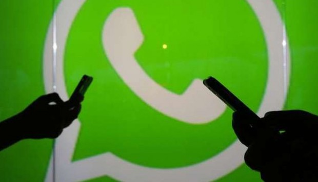 India y WhatsApp - AFP
