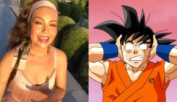 Dragon Ball y el Thalía Challenge