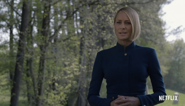 "Robin Wright en ""House of Cards"""