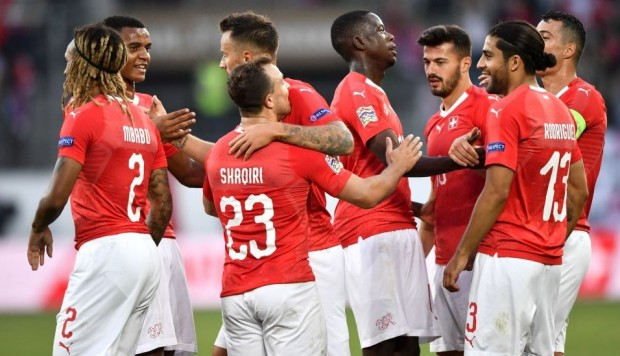 Suiza aplastó 6-0 a Islandia por la UEFA Nations League 2018. (Foto: AFP)