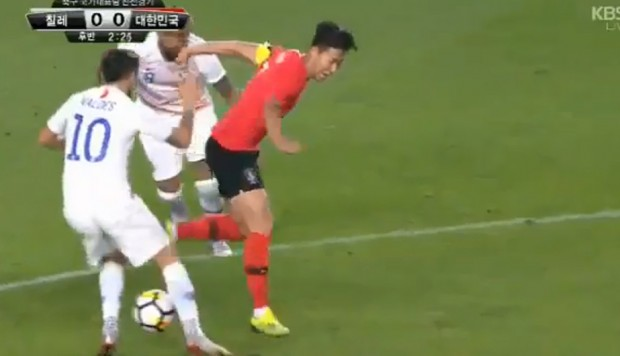 Youtube viral Chile vs. Corea del Sur: Son Heung-Min ridiculizó a Arturo Vidal y Diego Valdés con ruleta y huacha | VIDEO