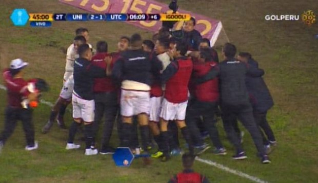 Universitario vs. UTC: el agónico gol de Osorio tras asistencia de Germán Denis | VIDEO