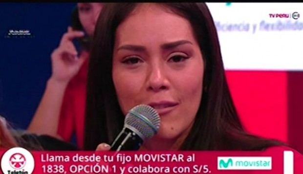 YouTube: Karen Schwarz se quebró al momento de pedir apoyo en TV para la Teletón | VIDEO