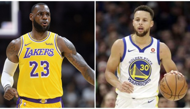 LeBron James y los jóvenes Lakers superaron a los Warriors sin Green