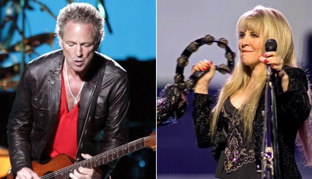 Lindsey Buckingham y Stevie Nicks