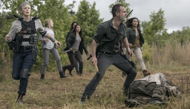 """The Walking Dead"" 9x02 - fotos de producción"