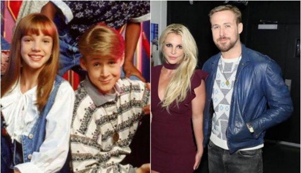 Britney Spears y Ryan Gosling