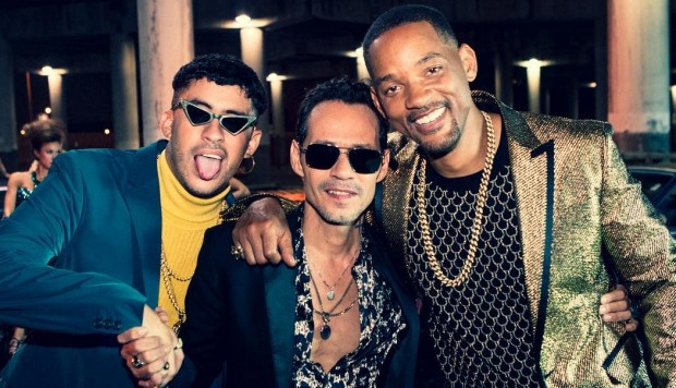 Will Smith, Marc Anthony y Bad Bunny