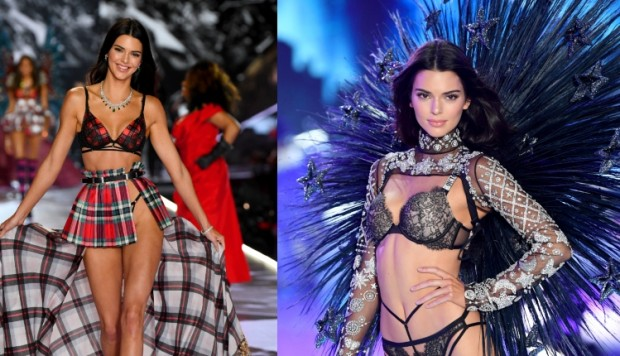 Kendall Jenner VS Fashion Show 2018