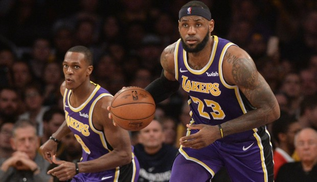 LeBron James se transformó en el quinto máximo anotador de la NBA