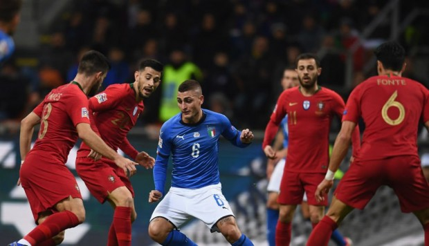 Italia vs. Portugal EN VIVO vía DirecTV Sports: duelo este sábado por la UEFA Nations League. (Foto: AP)