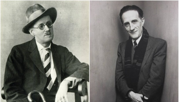 James Joyce y Marcel Duchamp