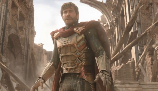"Mysterio en avance de ""Spider-Man: Far From Home""."