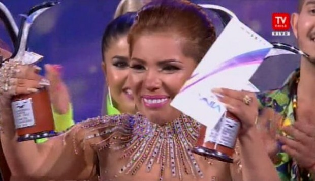 "En video: Susan Ochoa interpreta ""Ya no más"" en la final de Viña del Mar. (Video: Tv Chile)"