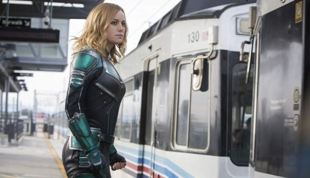 Avengers: Endgame con Captain Marvel