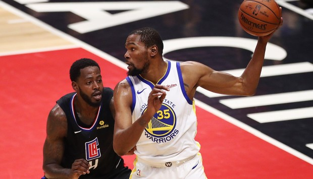 Warriors vs. Clippers EN VIVO vía ESPN: cuarto cuarto desde California por play offs de NBA. (Foto: AFP)