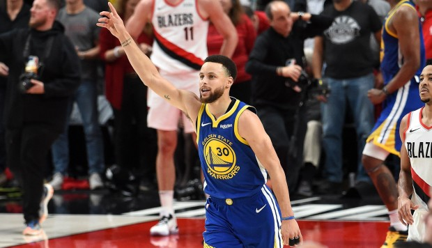 ¡Warriors campeón de la Conferencia Oeste! Venció 4-0 a Blazers y pasó a la final de la NBA | VIDEO. (Foto: AFP)