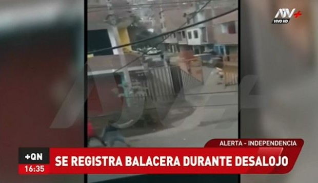 Balacera en Independencia