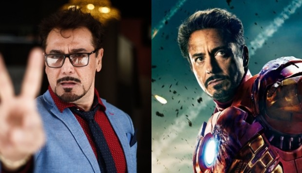 Robert Downey Jr. como Iron Man. (Fotos: Agencia)