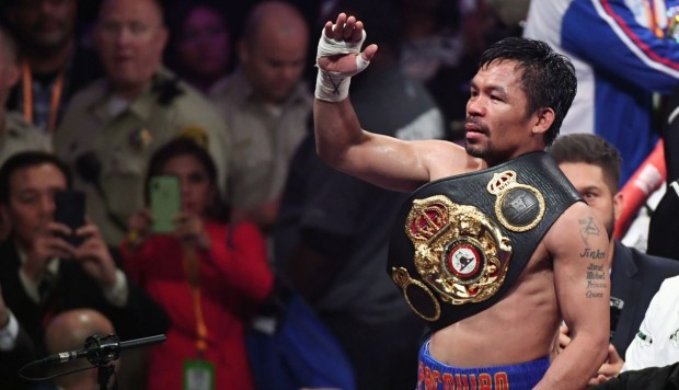 Manny Pacquiao derrotó a Keith Thurman