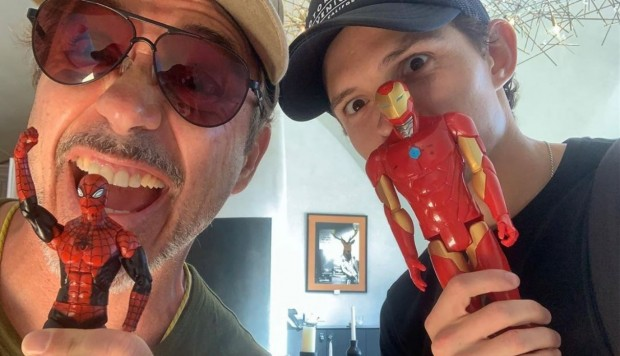 Tom Holland y Robert Downey Jr. se reunen pese a la división entre Sony y Disney
