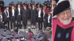 Coro rinde tributo a John Williams en la Universidad de Harvard a capela [VIDEO]