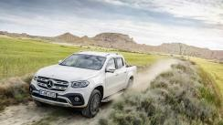 Mercedes-Benz presentó la Clase X, su primera pick up