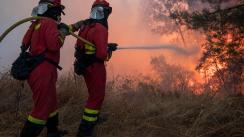 Portugal: Más de mil bomberos intentan controlar 2 incendios forestales [VIDEO]