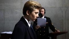 La hija de Hillary Clinton defendió del bullying al hijo menor de Donald Trump