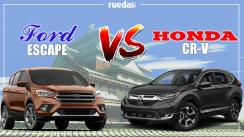 ¿Honda CR-V o Ford Escape? ¡Tú decides!
