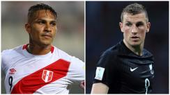 Paolo Guerrero vs. Chris Wood: los '9' de la repesca