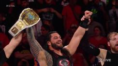 WWE: Roman Reigns se coronó campeón Intercontinental en Raw
