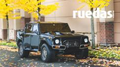 Exclusivo todoterreno: subastan un impecable Lamborghini LM002