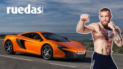 Connor McGregor se luce en las calles con su moderno McLaren [VIDEO]