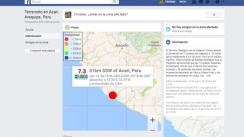 Facebook: sismo en Arequipa causa que la red active Safety Check