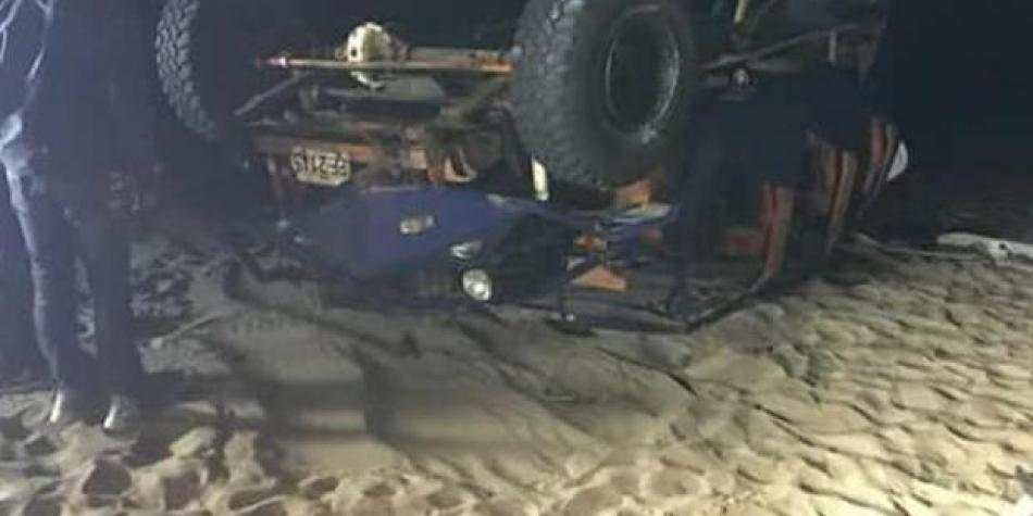 Ica: German tourist dies in a car accident in Huacachina | The trade