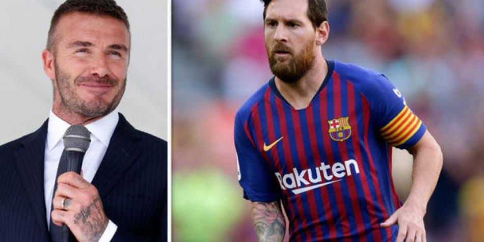 Lionel Messi: Beckham wants the Flea & # 39; Sign for Inter Miami