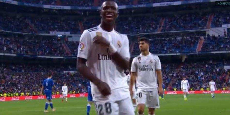 Real Madrid vs. Melilla: Vinicius anota el 5-0 y desata su ritmo dentro de la cancha