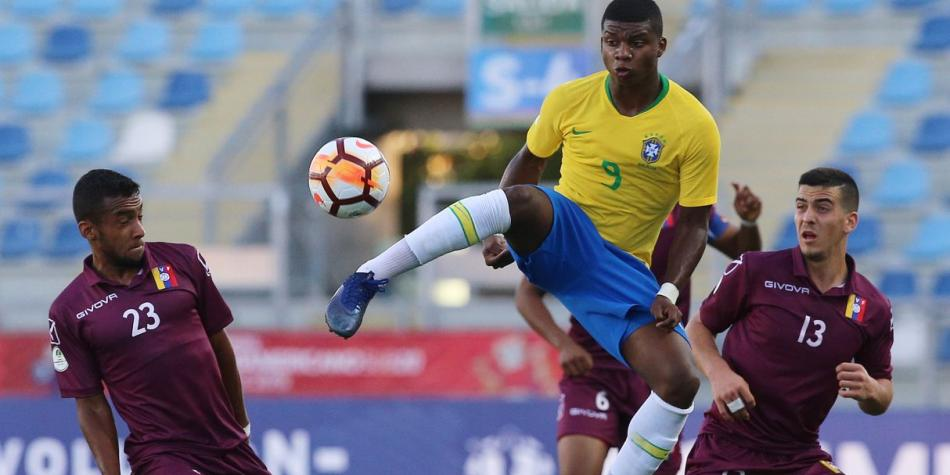 Today Venezuela Vs Brazil Sub 20 Live Free Online For The Date 2 Of South American S Last Hex In Chile See
